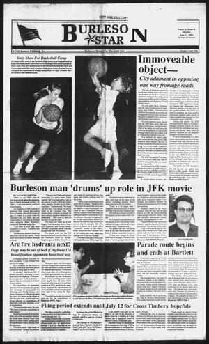 Primary view of object titled 'Burleson Star (Burleson, Tex.), Vol. 26, No. 90, Ed. 1 Monday, June 17, 1991'.