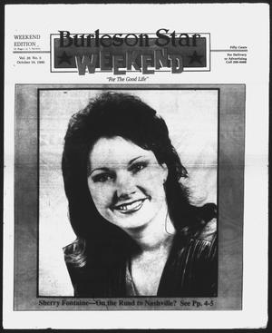 Primary view of object titled 'Burleson Star (Burleson, Tex.), Vol. 26, No. 5, Ed. 1 Friday, October 19, 1990'.