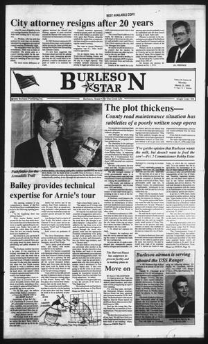 Primary view of object titled 'Burleson Star (Burleson, Tex.), Vol. 26, No. 66, Ed. 1 Monday, March 25, 1991'.