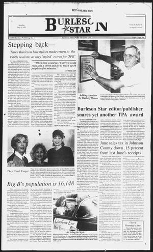 Primary view of object titled 'Burleson Star (Burleson, Tex.), Vol. 26, No. 96, Ed. 1 Monday, July 8, 1991'.