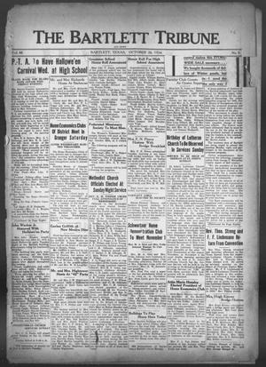 Primary view of object titled 'The Bartlett Tribune and News (Bartlett, Tex.), Vol. 48, No. 8, Ed. 1, Friday, October 26, 1934'.