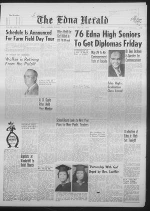 Primary view of The Edna Herald (Edna, Tex.), Vol. 58, No. 33, Ed. 1 Thursday, May 21, 1964