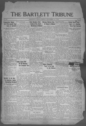 Primary view of object titled 'The Bartlett Tribune and News (Bartlett, Tex.), Vol. 49, No. 12, Ed. 1, Friday, November 29, 1935'.