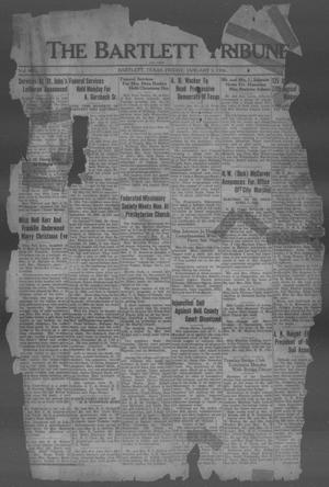Primary view of object titled 'The Bartlett Tribune and News (Bartlett, Tex.), Vol. 49, No. 16, Ed. 1, Friday, January 3, 1936'.