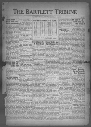 Primary view of object titled 'The Bartlett Tribune and News (Bartlett, Tex.), Vol. 49, No. 21, Ed. 1, Friday, February 7, 1936'.