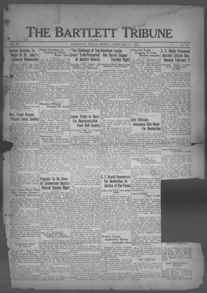 The Bartlett Tribune and News (Bartlett, Tex.), Vol. 49, No. 23, Ed. 1, Friday, February 21, 1936