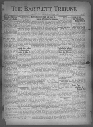 Primary view of object titled 'The Bartlett Tribune and News (Bartlett, Tex.), Vol. 49, No. 25, Ed. 1, Friday, March 6, 1936'.