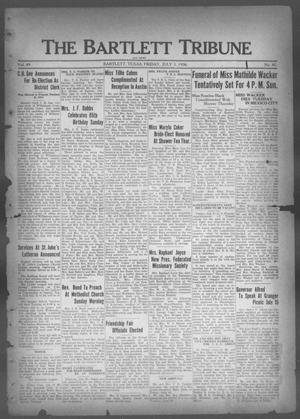 Primary view of object titled 'The Bartlett Tribune and News (Bartlett, Tex.), Vol. 49, No. 42, Ed. 1, Friday, July 3, 1936'.