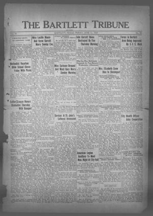 Primary view of object titled 'The Bartlett Tribune and News (Bartlett, Tex.), Vol. 50, No. 38, Ed. 1, Friday, June 11, 1937'.