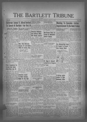 The Bartlett Tribune and News (Bartlett, Tex.), Vol. 50, No. 42, Ed. 1, Friday, July 9, 1937