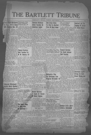 Primary view of object titled 'The Bartlett Tribune and News (Bartlett, Tex.), Vol. 51, No. 11, Ed. 1, Friday, December 3, 1937'.
