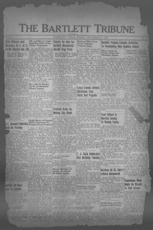 Primary view of object titled 'The Bartlett Tribune and News (Bartlett, Tex.), Vol. 51, No. 15, Ed. 1, Friday, December 31, 1937'.