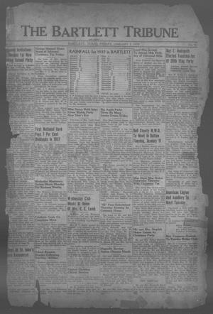 Primary view of object titled 'The Bartlett Tribune and News (Bartlett, Tex.), Vol. 51, No. 16, Ed. 1, Friday, January 7, 1938'.