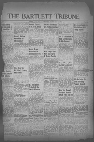 Primary view of object titled 'The Bartlett Tribune and News (Bartlett, Tex.), Vol. 51, No. 20, Ed. 1, Friday, February 4, 1938'.