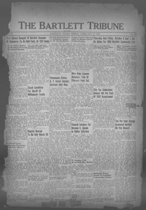 Primary view of object titled 'The Bartlett Tribune and News (Bartlett, Tex.), Vol. 51, No. 22, Ed. 1, Friday, February 18, 1938'.