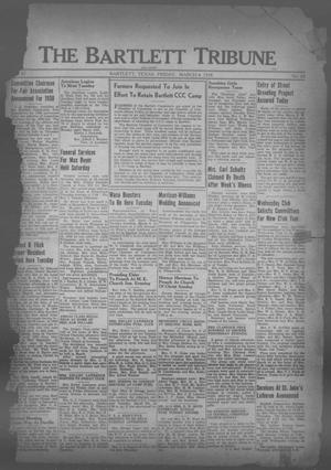 The Bartlett Tribune and News (Bartlett, Tex.), Vol. 51, No. 24, Ed. 1, Friday, March 4, 1938