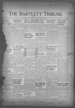 Primary view of object titled 'The Bartlett Tribune and News (Bartlett, Tex.), Vol. 51, No. 37, Ed. 1, Friday, June 3, 1938'.