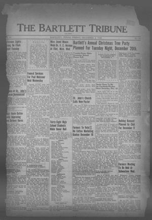 Primary view of object titled 'The Bartlett Tribune and News (Bartlett, Tex.), Vol. 52, No. 11, Ed. 1, Friday, December 2, 1938'.