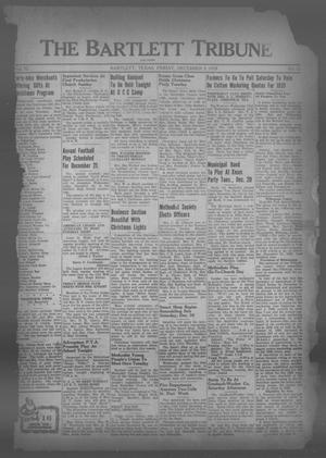 Primary view of object titled 'The Bartlett Tribune and News (Bartlett, Tex.), Vol. 52, No. 12, Ed. 1, Friday, December 9, 1938'.