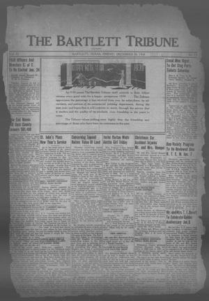 Primary view of object titled 'The Bartlett Tribune and News (Bartlett, Tex.), Vol. 52, No. 15, Ed. 1, Friday, December 30, 1938'.