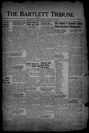 Primary view of The Bartlett Tribune and News (Bartlett, Tex.), Vol. 52, No. 18, Ed. 1, Friday, January 20, 1939