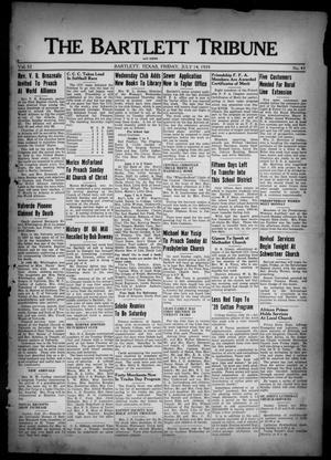 The Bartlett Tribune and News (Bartlett, Tex.), Vol. 52, No. 43, Ed. 1, Friday, July 14, 1939