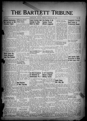 Primary view of object titled 'The Bartlett Tribune and News (Bartlett, Tex.), Vol. 53, No. 28, Ed. 1, Friday, March 29, 1940'.