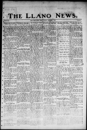 Primary view of The Llano News. (Llano, Tex.), Vol. 41, No. 51, Ed. 1 Thursday, September 5, 1929