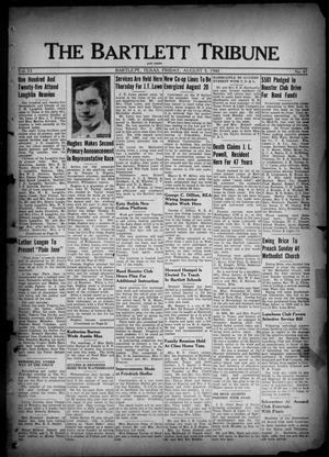 Primary view of object titled 'The Bartlett Tribune and News (Bartlett, Tex.), Vol. 53, No. 47, Ed. 1, Friday, August 9, 1940'.