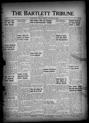 Primary view of object titled 'The Bartlett Tribune and News (Bartlett, Tex.), Vol. 53, No. 50, Ed. 1, Friday, August 30, 1940'.