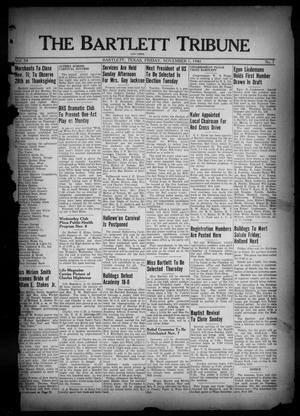 Primary view of object titled 'The Bartlett Tribune and News (Bartlett, Tex.), Vol. 54, No. 7, Ed. 1, Friday, November 1, 1940'.