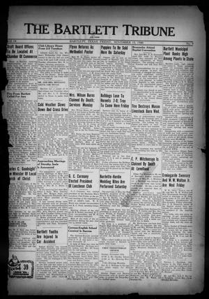 Primary view of object titled 'The Bartlett Tribune and News (Bartlett, Tex.), Vol. 54, No. 9, Ed. 1, Friday, November 15, 1940'.