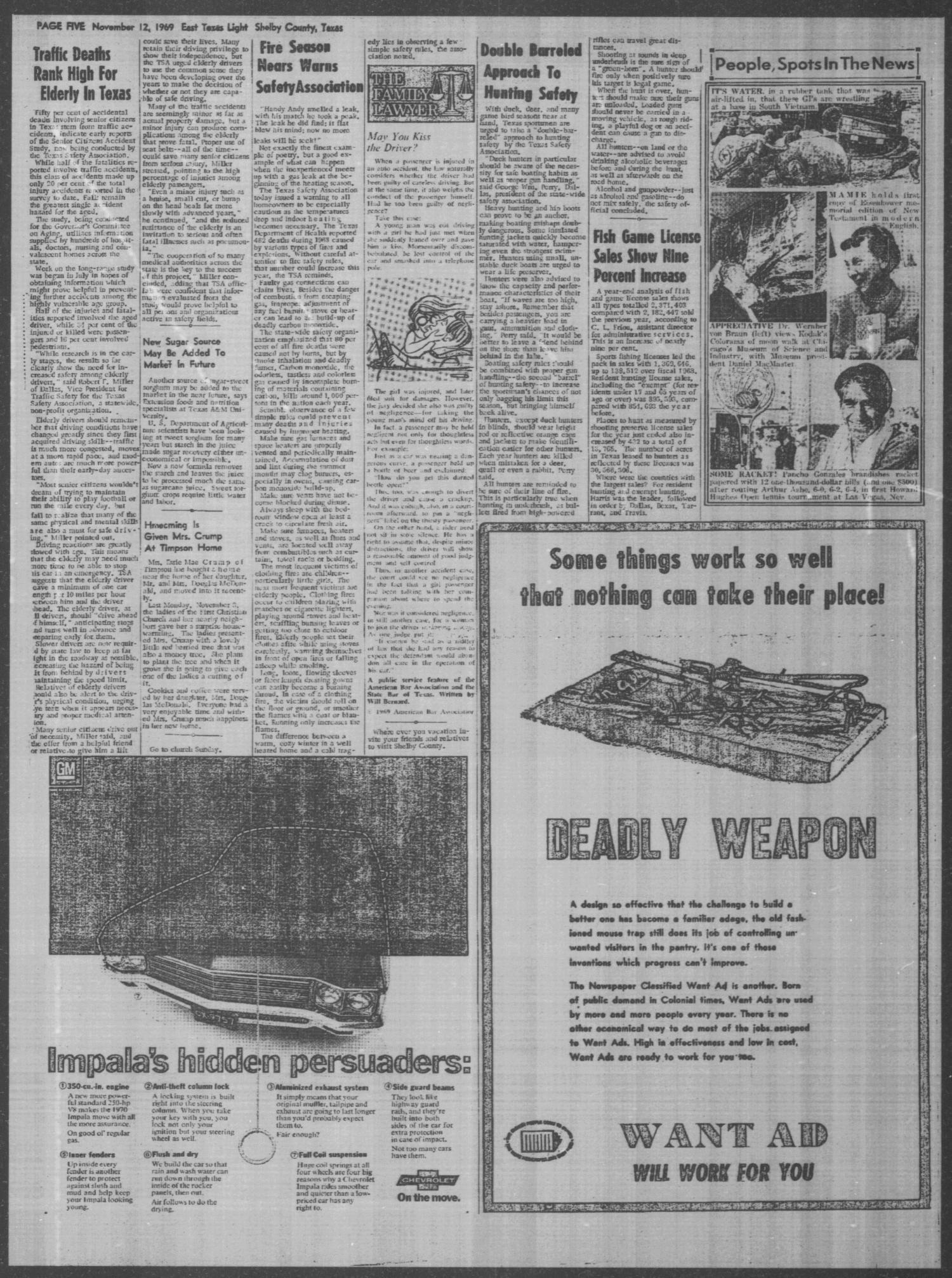 East Texas Light and The Timpson Times (Tenaha, Tex ), Vol  44, No
