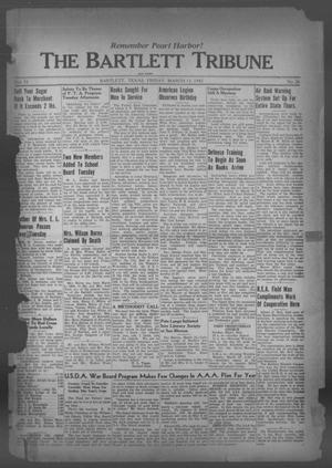 Primary view of object titled 'The Bartlett Tribune and News (Bartlett, Tex.), Vol. 55, No. 26, Ed. 1, Friday, March 13, 1942'.