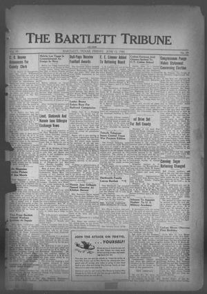 Primary view of object titled 'The Bartlett Tribune and News (Bartlett, Tex.), Vol. 55, No. 39, Ed. 1, Friday, June 12, 1942'.