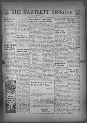 Primary view of object titled 'The Bartlett Tribune and News (Bartlett, Tex.), Vol. 55, No. 49, Ed. 1, Friday, August 21, 1942'.