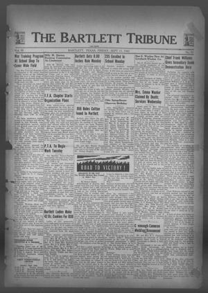 Primary view of object titled 'The Bartlett Tribune and News (Bartlett, Tex.), Vol. 55, No. 52, Ed. 1, Friday, September 11, 1942'.