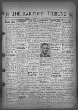 Primary view of object titled 'The Bartlett Tribune and News (Bartlett, Tex.), Vol. 56, No. 8, Ed. 1, Friday, November 6, 1942'.