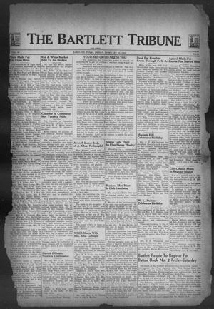 Primary view of object titled 'The Bartlett Tribune and News (Bartlett, Tex.), Vol. 56, No. 24, Ed. 1, Friday, February 26, 1943'.