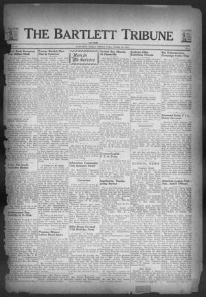 Primary view of object titled 'The Bartlett Tribune and News (Bartlett, Tex.), Vol. 57, No. 7, Ed. 1, Friday, October 29, 1943'.