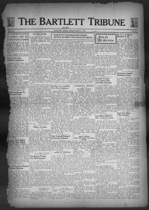 Primary view of object titled 'The Bartlett Tribune and News (Bartlett, Tex.), Vol. 57, No. 24, Ed. 1, Friday, March 10, 1944'.