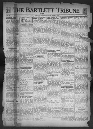 Primary view of object titled 'The Bartlett Tribune and News (Bartlett, Tex.), Vol. 58, No. 3, Ed. 1, Friday, October 13, 1944'.