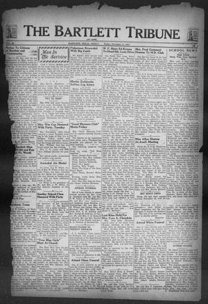 Primary view of object titled 'The Bartlett Tribune and News (Bartlett, Tex.), Vol. 58, No. 8, Ed. 1, Friday, November 17, 1944'.