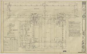 Primary view of object titled 'School Gymnasium Building Iraan, Texas: Foundation Plan'.