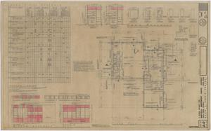 Primary view of object titled 'School Cafeteria Building Iraan, Texas: Floor Plan and Details'.