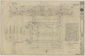 Primary view of object titled 'School Gymnasium Building Iraan, Texas: Electrical Floor Plan'.