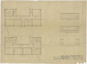 Primary view of object titled 'Grade School Building Kermit, Texas: Repair Plans'.