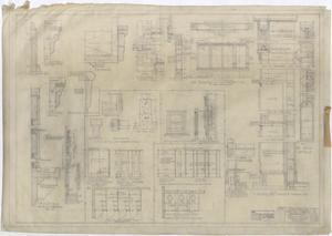 Primary view of object titled 'Consolidated Community School Building Monahans, Texas: Miscellaneous Details'.