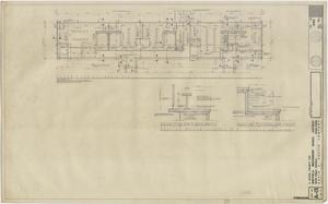 Primary view of object titled 'School Gymnasium Building Iraan, Texas: Alternate Floor Plan'.