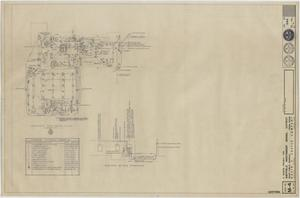 Primary view of object titled 'School Cafeteria Building Iraan, Texas: Electrical Plan'.